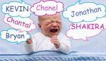 Il nome dei figli: in provincia avanzano i Kevin e le Chantal. L'abbinata col cognome è spesso esilarante