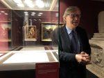 """Catania celebra Antonello da Messina. Da oggi la Tavola Bifronte va ad arricchire la mostra """"Da Giotto a de Chirico al Castello Ursino"""