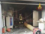 Incendio in un supermercato di Santa Maria di Licodia