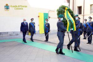 Catania, Guardia di Finanza: alla caserma 'Majorana' celebrato il 246° anniversario della fondazione