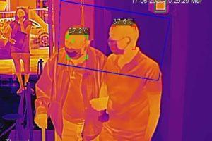 Fase 3, per gli utenti Acoset termoscanner all'ingresso degli uffici: rileva in automatico la temperatura
