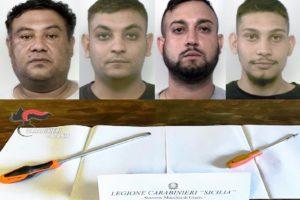 Macchia di Giarre, quartetto di rom finisce in manette dopo tentato furto: in zona altre case 'visitate' dai ladri