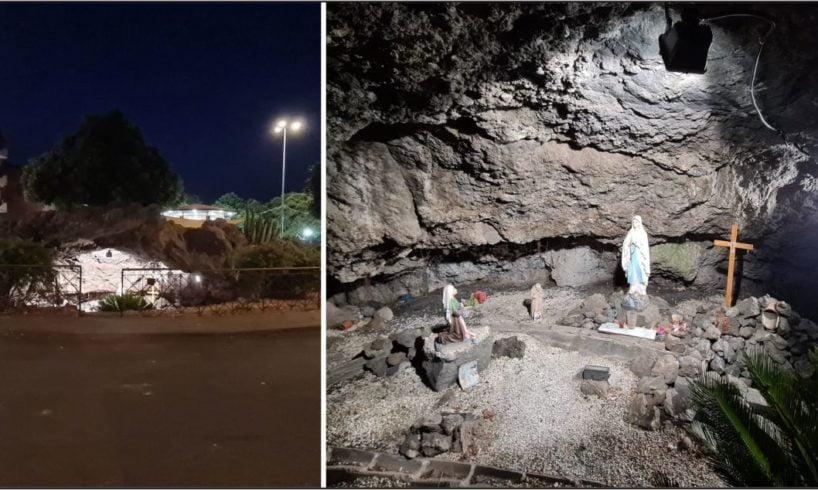 Biancavilla, ripulita e illuminata la Grotta di Sberno: accolte le richieste dei cittadini del quartiere