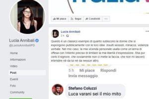 E' stato identificato e denunciato dalla polizia postale l'autore degli insulti choc alla deputata Lucia Annibali.