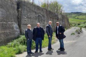 Bronte, Calanna rivendica l'intervento sulla strada 'Stuara Santa Venera': finanziata con i fondi del Patto per il Sud