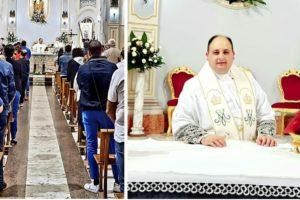 Da Paternò a Belpasso: Padre Chirieleison è il nuovo parroco di Sant'Antonio Abate: ieri la prima celebrazione