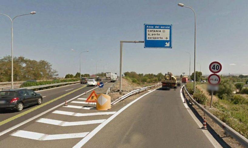 """Catania, lavori-lumaca sulla Tangenziale vanno avanti da un anno e mezzo. Falcone all'impresa: """"Riparta il cantiere o vada via"""""""