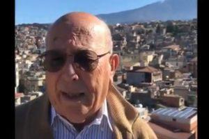 """Bronte, il sindaco Firrarello positivo al Covid: """"Inizio la cura ma sto bene"""". Lavorerà da casa"""
