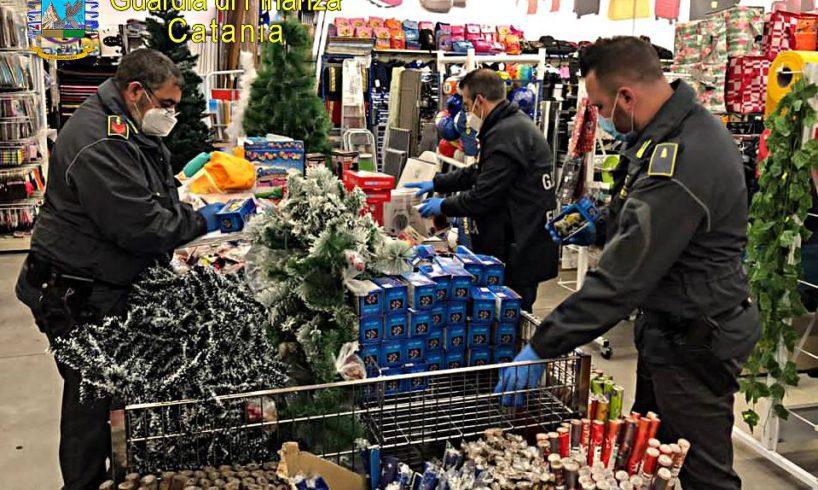 Belpasso, GdF Paternò sequestra 2400 articoli contraffatti in negozio gestito da cinese