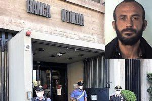 Catania, extracomunitario blocca ladro in fuga assieme ai carabinieri: il colpo alle spalle della Banca d'Italia