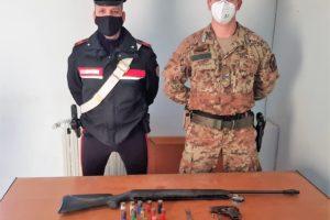 Palagonia, armi clandestine in un casolare di c.da Frangello: arrestato il proprietario 54enne