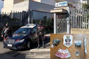 Palagonia, chiude porta in faccia ai carabinieri: in casa nascondeva droga. Arrestato 33enne