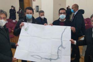 Adrano, la strada-budello dello svincolo Stadio dell'Etna: c'è il progetto preliminare per sistemarla