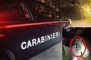Motta S. Anastasia, due giovani arrestati in flagranza per il furto di un motociclo: vicino al cimitero comunale