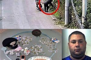 Gravina di Catania, nasconde la droga nei muri in pietra lavica: 25enne ai domiciliari
