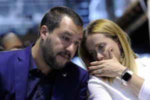 """Centrodestra, Meloni: """"Salvini mi ha stupita. Vuole elezioni o tornare con M5S?"""""""