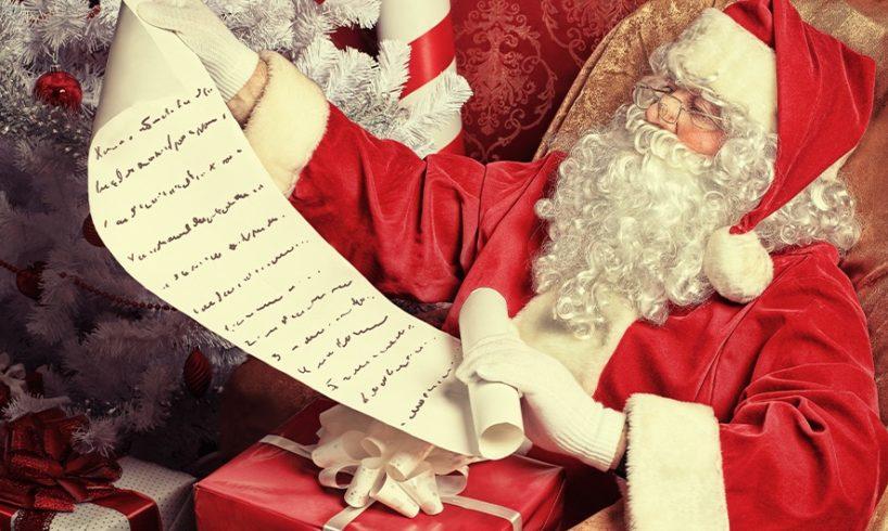 """Letterina a Babbo Natale: """"Portaci aria nuova e un sacco di normalità. Manda giganti e non nani da giardino"""""""