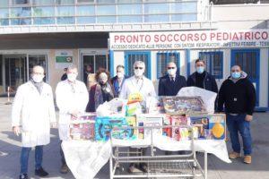 Catania, due aziende donano giocattoli ai bambini della Pediatria del 'Garibaldi': i ringraziamenti dell'azienda