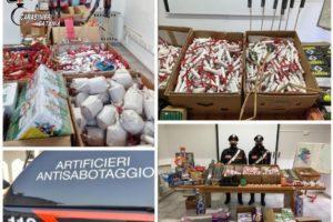 Palagonia, sequestrata polveriera di botti illegali: arrestato venditore ambulante di 60 anni