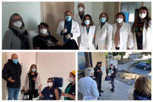 Negli ospedali di Paternò e Biancavilla primo giorno di vaccini: nei distretti sanitari presto 40 punti vaccinazione