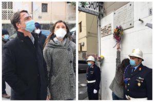 """Catania, fiori sulla lapide di Pippo Fava ucciso dalla mafia 37 anni fa. La nipote: """"Sentiamo la vicinanza di chi lo ricorda"""""""
