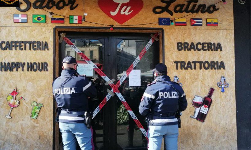 Catania, controlli anticovid: locale in Piazza Carlo Alberto sospeso per la terza volta