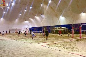 Gravina di Catania, controlli anticovid: giocavano a beach tennis ma al chiuso. Sanzione e chiusura per struttura sportiva
