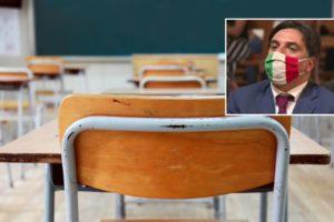 """Scuola, sindaco di Catania dopo aumento contagi: """"Posticipare a fine mese avvio lezioni in presenza"""""""