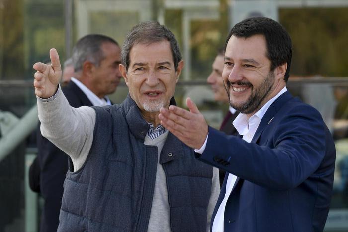 """Ponte sullo Stretto, Salvini incontra Musumeci: """"Draghi rilanci sul collegamento. Sono 100 mila posti di lavoro"""""""