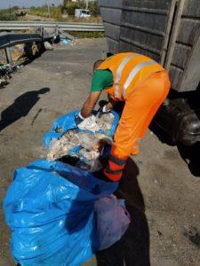 Paternò, l'assessore Gulisano piazza telecamere 'anti sporcaccioni' in via Balatelle: la rotonda sarà ripulita dai rifiuti