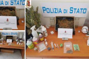 Catania, coltivazione di marijuana scoperta in casa di un incensurato: il 33enne è stato arrestato