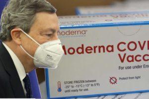 Vaccino, Draghi chiede a Moderna dosi extra: azienda americana valuta di accettare
