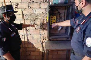 Palagonia, allacciamento abuso alla rete elettrica: giovane coppia ai domiciliari
