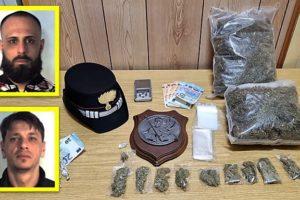 Catania, 3 arresti per droga nel Villaggio Dusmet: uno è minorenne