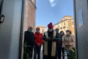 Adrano, al via il 'Centro di Ascolto' della Caritas: inaugurato dall'Arcivescovo Gristina (VIDEO)