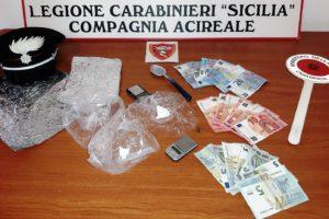Viagrande, nascondeva la cocaina nel giubbotto: arrestato spacciatore 37enne