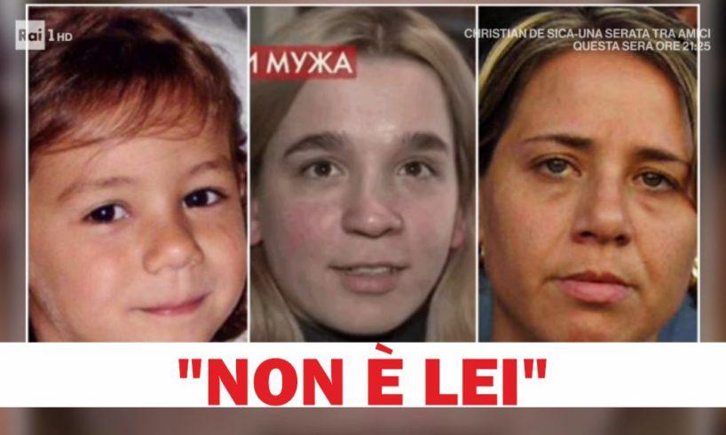 """""""Non è Denise Pipitone"""": Olesya Ropstova non è la bambina di Mazara scomparsa nel 2004. Nello studio della tv russa ha incontrato una sorella"""